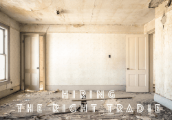 hiring the right tradie